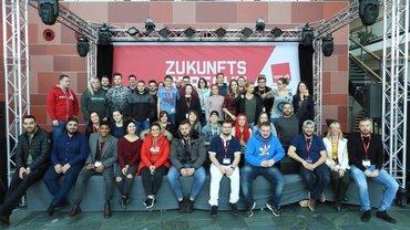 Teilnehmer der Jugendkonferenz des Bundesfachbereiches