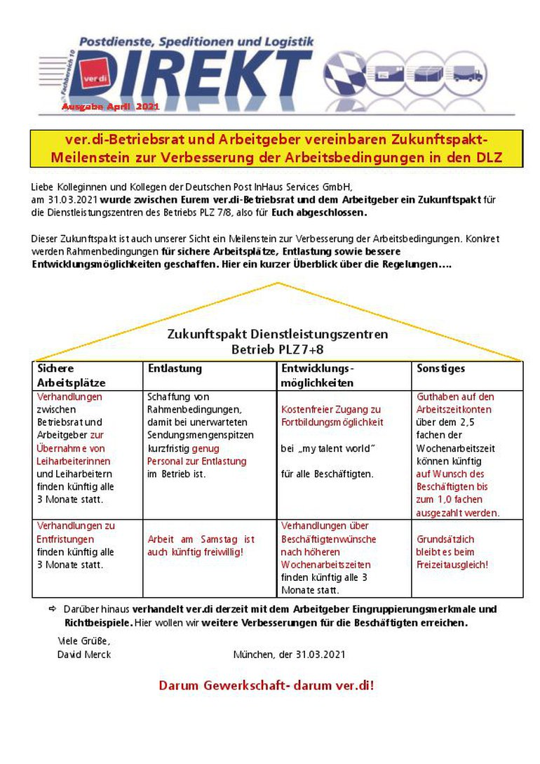 Deutschen Post InHaus